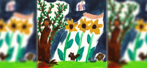 Veranstalungsbild Auf einer bunten Blumenwiese ging ein buntes Tier spazieren, . . . (ab 6 Jahren)